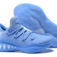 Adidas Performance Men's Crazy Explosive Primeknit Basketball Shoe - Light Blue