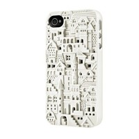 Buildings iPhone 4/4S Case - White