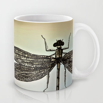 DRAGONFLY Mug by Pia Schneider [atelier COLOUR-VISION]