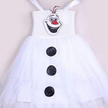 Olaf Disney Frozen Tutu Dress