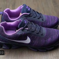 """Nike"" Women Sport Casual Blade Bottom Weave Sneakers Fashion Running Shoes"