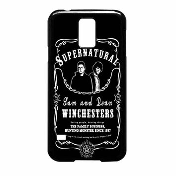 Supernatural Whiskey Samsung Galaxy S5 Case