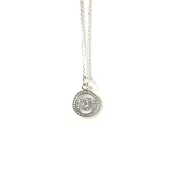 Sterling Silver Evil Eye Necklace c59bb644a0