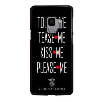 VICTORIA'S SECRET PLEASE ME Samsung Galaxy S4 S5 S6 S7 S8 S9 Edge Plus Note 3 4 5 8 Case Cover