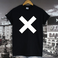 The XX Band Top Basic Space Tour Hipster Cross Islands by ijj3p