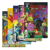 Adventure Time Paper Comic 5-Pack Set Issues 5-9 |