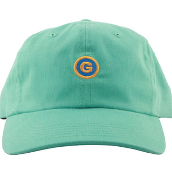 G CIRCLE POLO STYLE BLUE AQUA (BLUE/ORANGE CIRCLE)