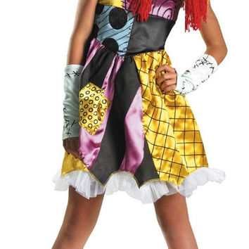 the nightmare before christmas sally child / tween costume - (7/8)