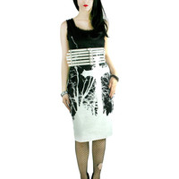 Too Fast Gothic Cross Damned Dress