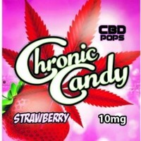 Chronic Candy Lollipops Strawberry