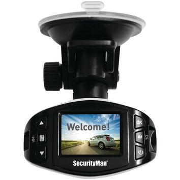 Securityman Mini Hd Car Camera Recorder Ii With Impact-sensing Recording