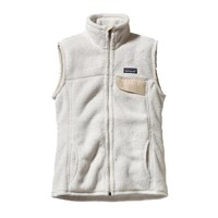 Patagonia Women's Re-Tool Fleece Vest | Raw Linen - White X-Dye