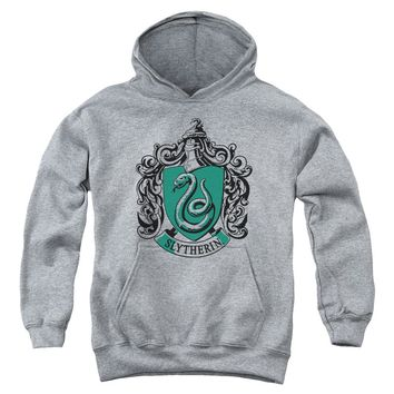 Harry Potter - Slytherin Crest Youth Pull Over Hoodie