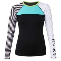 NEON TIDE LONG SLEEVE TOP