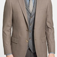 Men's Big & Tall Hart Schaffner Marx 'New York' Classic Fit Check Sport Coat