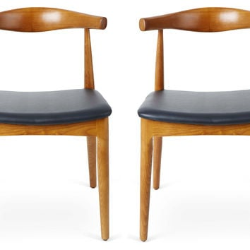 Aaliyah Modern Dining Chairs, Pair, Dining Chair Sets