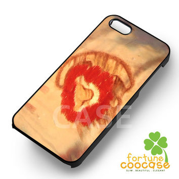Rafiki The Lion King - 123zz for  iPhone 6S case, iPhone 5s case, iPhone 6 case, iPhone 4S, Samsung S6 Edge