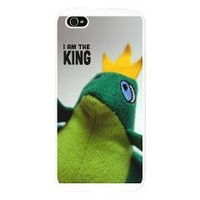 I am the King Frog Cell Phone Case iPhone 5 Case> Fit for a King> Cross Threads
