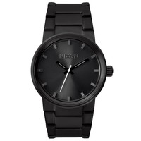Nixon A160001 Men's The Cannon Black Dial Black IP Steel Bracelet Watch