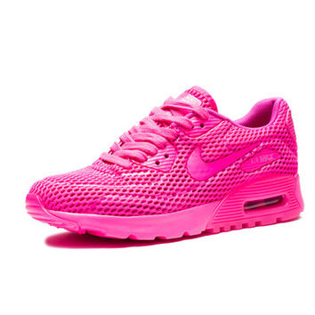 NIKE WOMEN'S AIR MAX 90 ULTRA BR - PINK BLAST/FIRE PINK | Undefeated