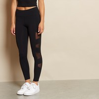 Side Mesh Legging