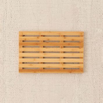 Bamboo Bath Mat | Urban Outfitters