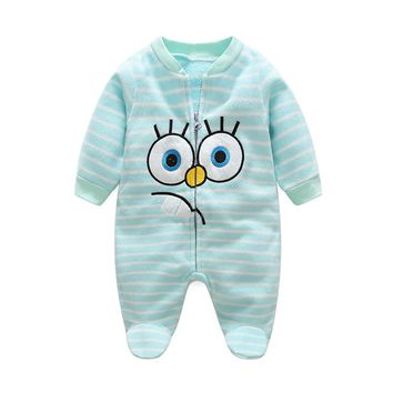 Baby Rompers Autumn Baby Girl Clothes Fleece Baby Boy Clothes Cartoon Newborn Clothes Roupas Bebe Infant Baby Jumpsuits Costume