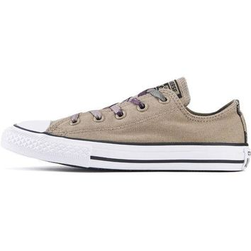 ICIKLP2 Converse for Kids: Chuck Taylor All Star Ox Sandy/Camo Sneakers