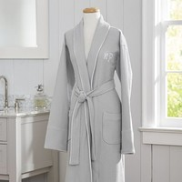 Hotel Piped Trim Robe