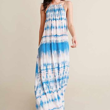 Leave 'Em Wondering Tie Dye Maxi Dress