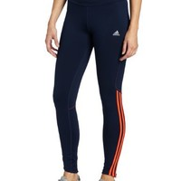 adidas Women's Response Drei Streifen Long Tight