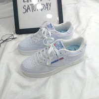 Fashion Casual Men Low Help Plate Shoes Sneakers Running Shoes