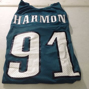 BRAND NEW ANDY HARMON #91 VINTAGE PHILADELPHIA EAGLES GREEN STARTER JERSEY