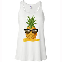 Pineapple Man Racerback Tank Top