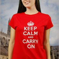 Keep Calm and Carry On | 6DollarShirts