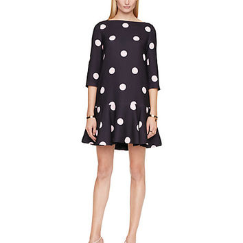 Kate Spade Spotlight Flounce Dress Ink