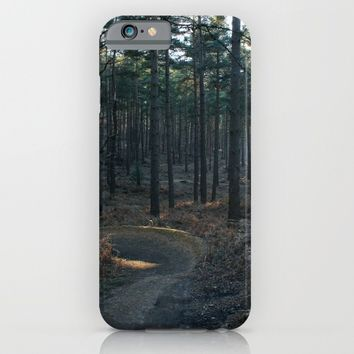 Spring forest.Sun behind trees.United Kingdom iPhone & iPod Case by Taoteching / C4Dart