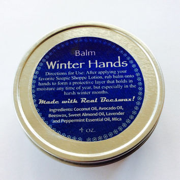 Winter Hands Soapie Shoppe Original/Men's Valentines Day/Winter Cracking Rescue Balm LUSH/Contractor Cracking/Soapie Shoppe Haywood Mall