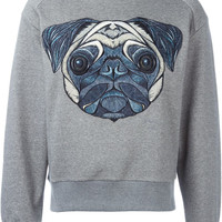 Grey Pug Sweatshirt