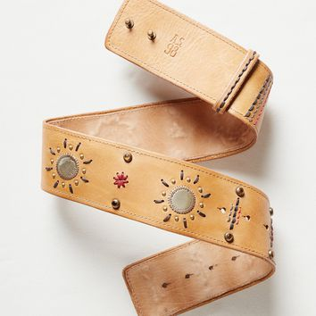 Free People Desert Sun Leather Belt