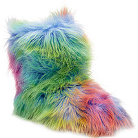 Steve Madden Snaglezz Faux-Fur Slippers