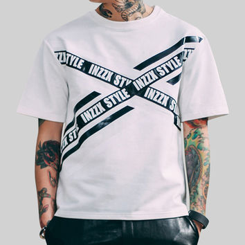 Men's Inzzx Style T-Shirt In White
