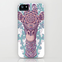 Giraffe (Colored) iPhone & iPod Case by BioWorkZ