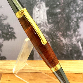 Handcrafted Historic Wood Pen From 3500 Year Old Florida Cypress Tree - The Senator Tree Ballpoint Pen