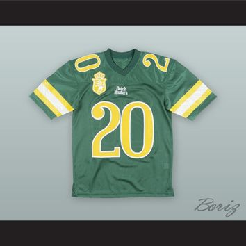 Dutch Masters Cigar Green Football Jersey