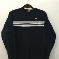ON SALE 25% OFF Vintage 90's Nike Sweatshirt Crewneck Hip Hop Sport Trainer Sweater Size M #S178