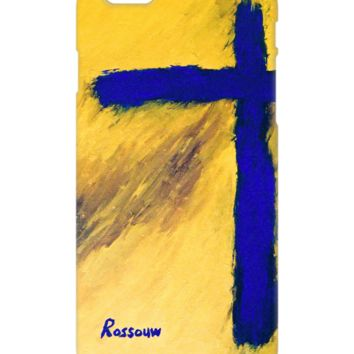 """Cross """"Blue Falcon"""" Phone Cases by #Rossouw. Be Good To Yourself."""
