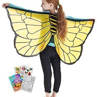 Douglas Toys Dreamy Dress-Ups 50567 Bumblebee Wings with Coloring Book