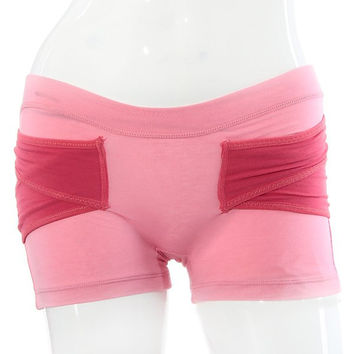 Pink Short Hip Shaping Pants