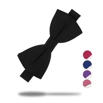 Veektie 16 Colors Fashion Bow Ties For Men Bowtie Tuxedo Classic Solid Color Wedding Party  Red Black White Butterfly  Brand